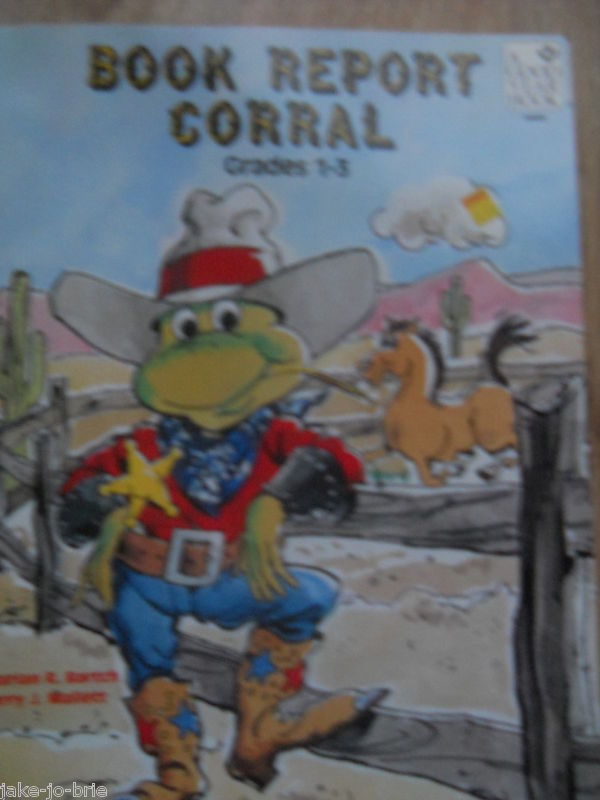 Primary image for Book Report Corral Grades 1 2 3 Good Year Books 1987 Independent Reading Sheets