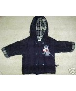 LE PETIT ROTHSCHILD HOODED COAT JACKETNAVY BLUE... - $14.60