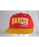 Atlanta Hawks Red/Gold Baseball Cap Snapback - £20.09 GBP