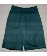 NEW SCHOOL UNIFORM SHORTS-GREEN-7 JR- BY FLYNN ... - $11.78
