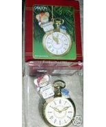 NIB CARLTON CARDS 2001 GRANDPA POCKET WATCH CHR... - $13.66