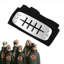 Naruto Forehead Cosplay Headband Protector Leaf Ninja Village Band Anime... - $3.79