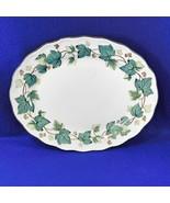"""Vintage Ivy Nikko Greenwood Oval Platter 12"""" - $14.50"""