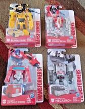 Hasbro Transformers Optimus Price, Megatron, Bubmlebee, Starscream Lot of 4 - $35.99