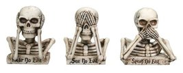 NO EVIL SKULLS (SET OF 3), SS-7593 - $24.99
