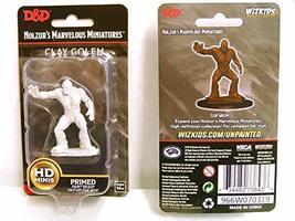 Nolzur's Marvelous Miniatures Wizkids - D&D Clay Golem WZK73843 - $6.69