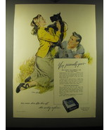1948 Kotex Sanitary Napkins Ad - art by Tom Hall - Very personally yours - $14.99