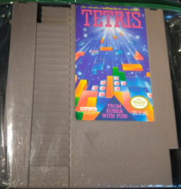 Tetris Nintendo Entertainment System 1989 Tested Works Great Mint  - $17.95