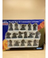 Elite Command WWII Commanders of Fame Eisenhower,Montgomery,Patton,Rommel - $39.55