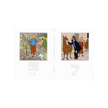 Tintin Little book of Peril and Little book of Travel set of 2 books image 3
