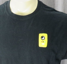 Snapchat Spectacles Promo T-shirt Large Big Yellow Machine - $27.67