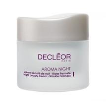 Decleor Aroma Night Beauty Cream Wrinkle Firmness 1.69 oz / 50 ml New In Box - $65.44