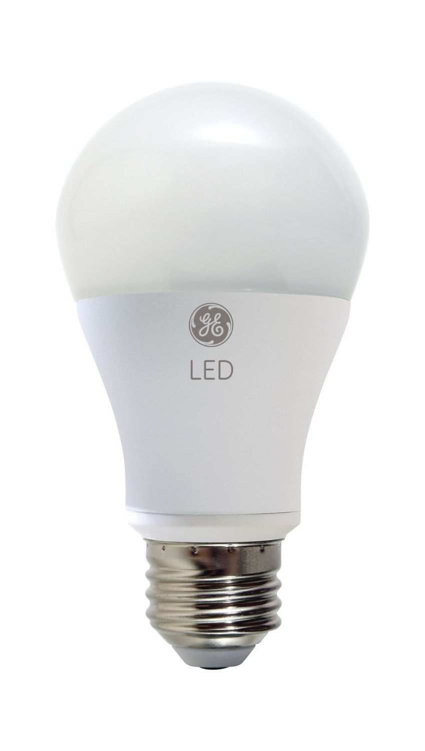 GE 60W Soft White 2700K 800 Lumens A19 Omni-Directional Dimmable LED Light Bulb