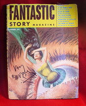 Ray Bradbury - FANTASTIC STORY magazine 1954  SIGNED by Ray Bradbury - $102.90