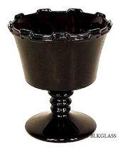 Westmoreland Ebony Black Glass Sherbet, Castle Tower #700 Marguerite, 1or2orMore - $16.99