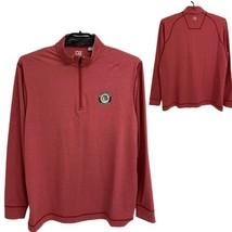 Cutter & Buck Cb dryTec men's long sleeve activewear half zip size XL/TG... - $27.60