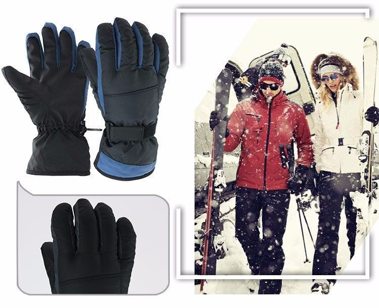 Winter Warm Ski Glove -30 Degree Windproof Waterproof Unisex Security Protection image 3