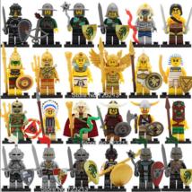 Lego 24 pcs Saint Seiya Aztec Egyptian Medieval Knights Minifigure  - $51.00