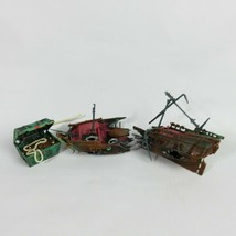 PEnn Plax Action Aerating Ornament TREASURE AND BROKEN SHIP VINTAGE - $56.00