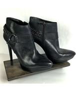 Jessica Simpson Vinata 10M Ankle Bootie Platform Stiletto Heels Chains S... - $98.87