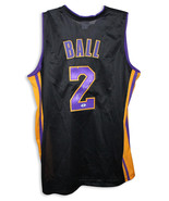 Lonzo Ball Los Angeles Lakers Autographed Black Jersey - $325.00