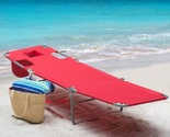 Folding chaise lounge red lay thumb155 crop