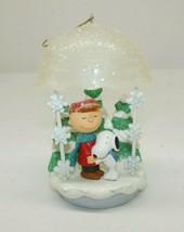 """Hallmark Keepsake 2008 """"Christmas Hugs"""" Peanuts Charlie Brown Snoopy QXC... - $14.84"""