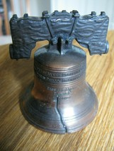 "LIBERTY BELL REPLICA CAST BELL Pass And Stow Philadelphia 2 1/4"" x 2 1/2... - $5.99"