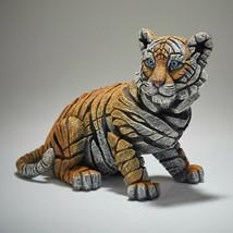 "9.5"" L Tiger Cub Figurine Sculpture by Edge Sculpture - Stunning Piece"
