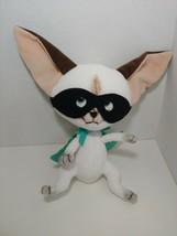Merrymakers Plush Skippyjon Jones Siamese cat Chihuahua dog wearing cape - $8.90