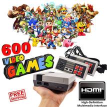 Nintendo Classic Mini NES Clone Console HDMI 600 Video Games TV HD - $47.41
