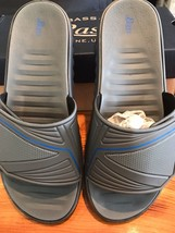 G.H. Bass Men's Surf Grey Slides NIB - $47.99