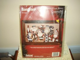 Janlynn Christmas Santa Collector Cross Stitch Kit - $23.99