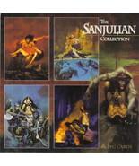 Sanjulian Trading Cards Promo Sheet 1994 NEW UNUSED - $4.99