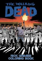 The Walking Dead: Rick Grimes Adult Coloring Book [Paperback] Kirkman, R... - $7.42