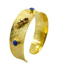 Multi Gold Plated Glass pulchritudinous Multi Gemstone jewellery Bangle AU gift - $20.45