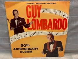 Guy Lombardo 50e Anniversaire LP Record Album Vinyle - $5.17