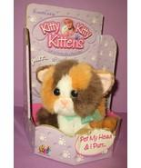 Vintage DSI Tyco Kitty Kitty Kitten Kittens Plush Rattle Purr Cat Rascal... - $500.00