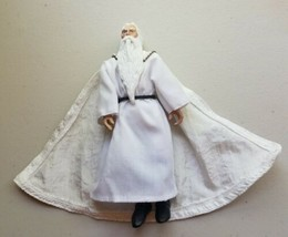 Lord of the Rings LOTR Gandalf The White Posable Action Figure Tolkien E... - $6.92