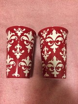 (2) KOHL'S HOT / COLD THERMAL CERAMIC COFFEE MUGS----FREE SHIP--NEW - $19.01