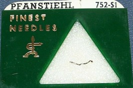 PFANSTIEHL NEEDLE STYLUS 752-S1 for Shure A-65MG Shure W-21 W-22 image 1