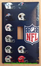 American Teams football Light switch outlet Wall Cover Plate Home decor image 1