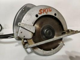 "Skil 686 Circular Saw 6"" Capacity 10 Amp Made In USA Works Great Vintage - $49.95"