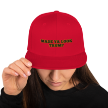 Made Ya Look Trump / Made Ya Look Snapback Hat image 2