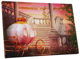 "Pingo World 0722Q9OJPX4 ""Princess Carriage Children Kids"" Gallery Wrapped Canvas - $43.51"