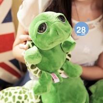 (green)Kacakid 2017 Kids Toys Hot Sale 28cm Kawaii Big Eyes Tortoise Plu... - $28.00