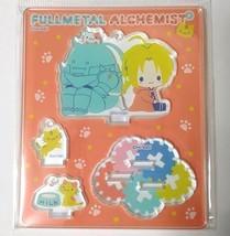 Fullmetal Alchemist Acrylic Mascot Stand Edward Alphonse Elric Sanrio a ... - $42.56