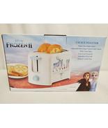 NEW SEALED 2019 Disney Frozen II Toaster MAKES SNOWFLAKE TOAST Elsa Anna - $46.42
