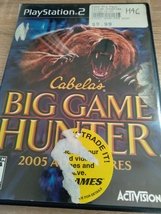 Sony PS2 Big Game Hunter 2005 Adventures image 1