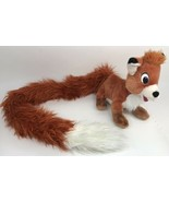 """Todd Fox and the Hound Plush Stuffed Animal Disney Parks 42"""" Fluffy Long... - $29.69"""